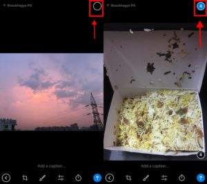 Select Multiple Images to send in Telegram