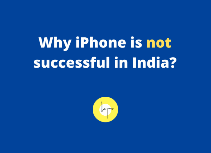 Reasons why iPhone is not successful in India