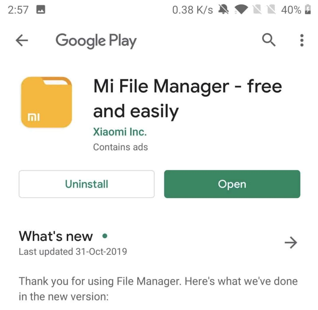 Download Mi File Manager