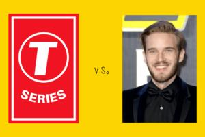 T-Series vs PewDiePie