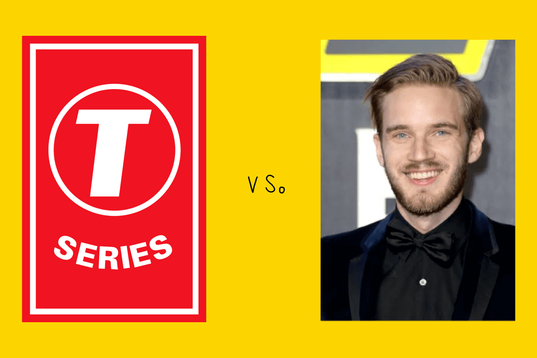 T-Series vs PewDiePie