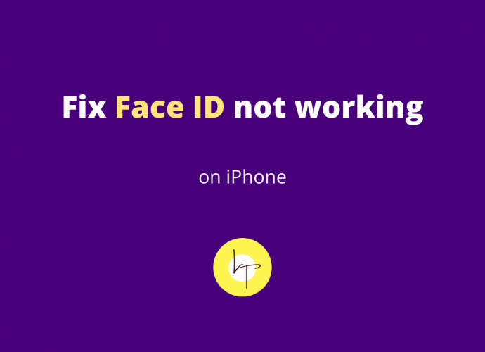 Face ID not working on iPhone
