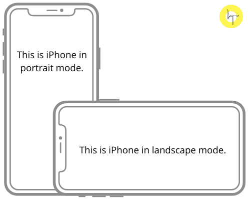 Hold the iPhone in portrait mode to fix Face ID not working issue