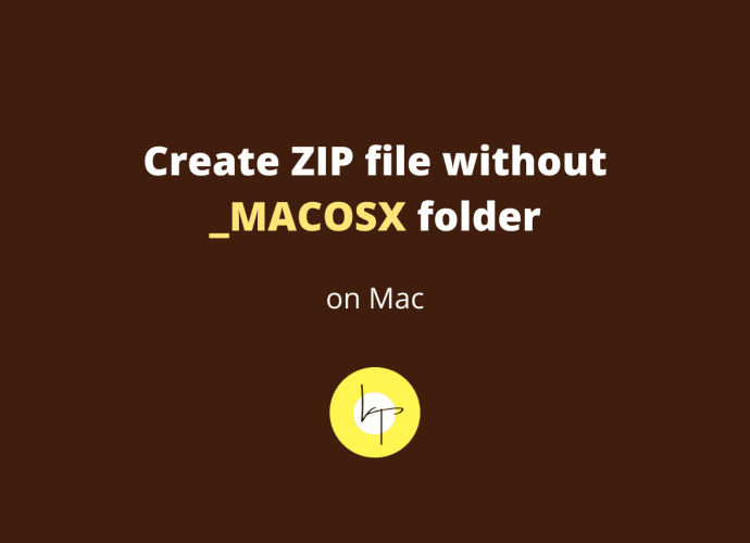 How to create ZIP file on Mac without _MACOSX folder