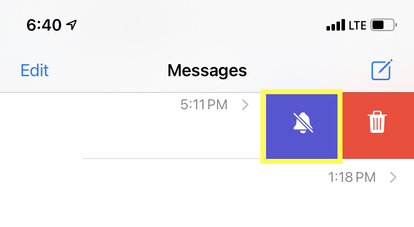 How to turn off text notifications for individual contact on iPhone