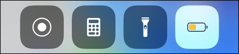 Turn off Low Power Mode from iPhone Control Center