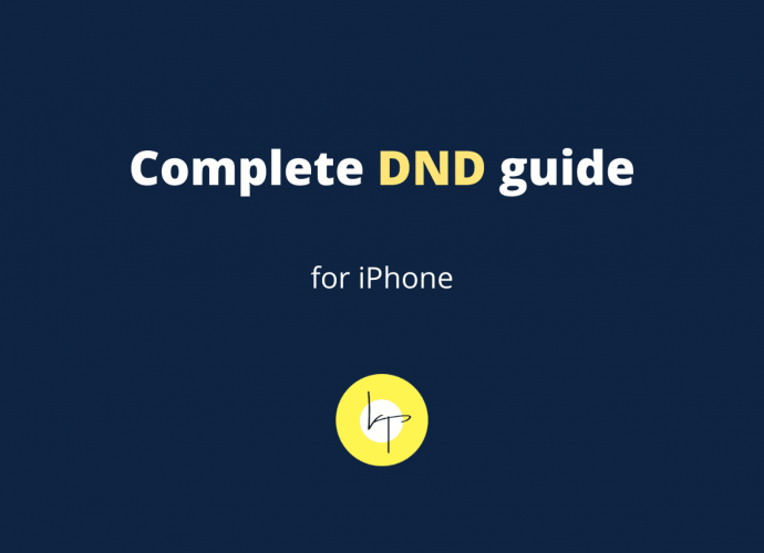 iPhone Do Not Disturb Complete Guide