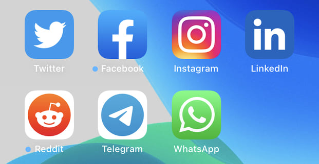 Arrange apps by category on iPhone