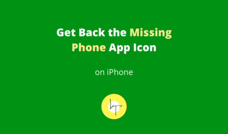 How to Get Back the Missing Phone App Icon on iPhone