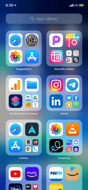 Maximize App Library usage in iOS 14 and iOS 15