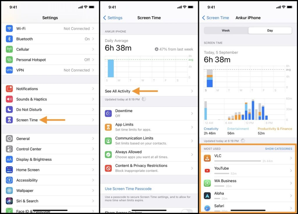 Organize your apps by usage on iPhone